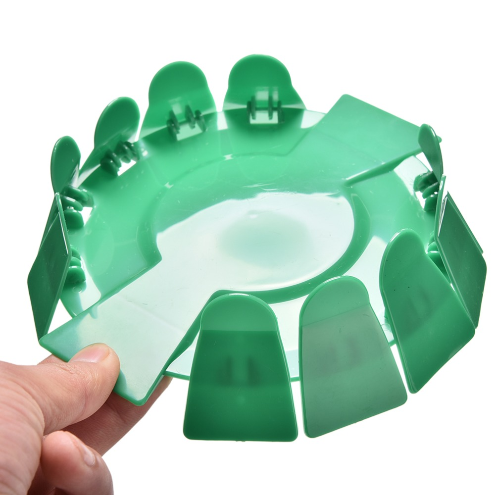 Dia 7.2 Inch All-Direction Putting Cup Golf Practice Hole Training Aid Indoor/Outdoor Green Color