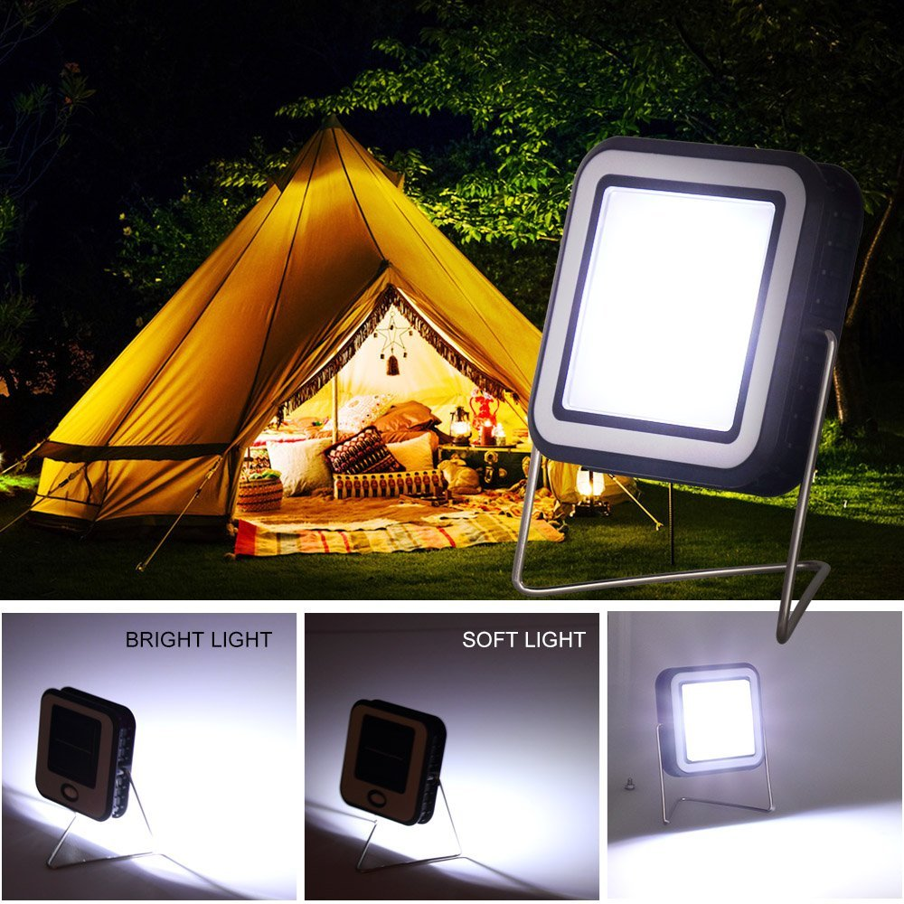 T-SUNRISE Portable LED Lantern Tent Light Bulb for Camping Hiking, Battery Powered Camping Equipment for Outdoor & Indoor Gen.2