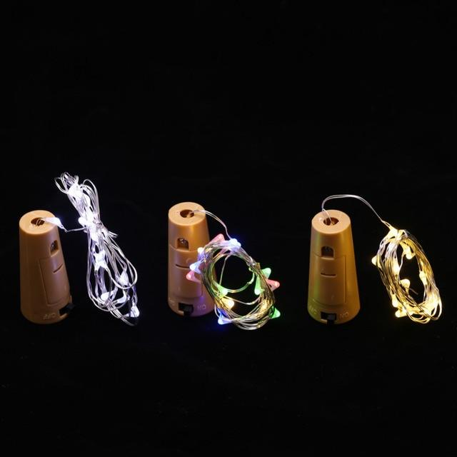 schalter glas flasche string licht dekoration string licht
