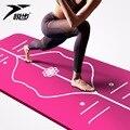 Yoga Mat Alignment Stripe for Proper Positioning, Bonus Yoga Mat Strap, Eco Friendly NBR Durab Non Slip drop ship