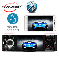 USB AUX Touch Screen auto audio Microphone Mirror Link for Andriod Car MP5 Player 4 1 Din Bluetooth 12V DC Car Radio