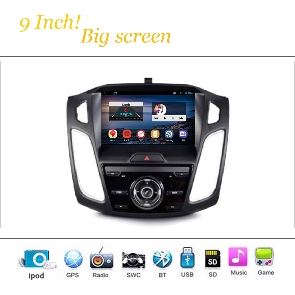 Phone Media Player For Android Phone compare prices on media player for android phone online shopping car system ford focus 3 9inch 2012 2015 radio stereo