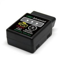 Мини ELM327 V1.5 Bluetooth HH OBD Расширенный OBDII OBD2 ELM 327 Автомобильный диагностический сканер, считыватель кодов, инструмент для сканирования