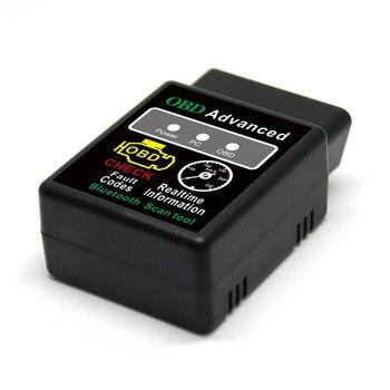 Mini ELM327 V1.5 Bluetooth HH OBD Gelişmiş OBDII OBD2 ELM 327 Oto Araba Teşhis Tarayıcı kod okuyucu tarama aracı sıcak satış