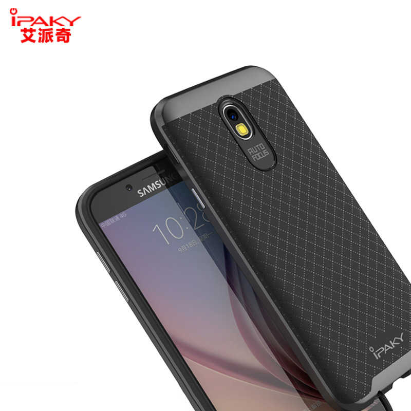 bb97569142 ... iPaky Case For Samsung Galaxy J5 J7 2017 European Armor Silicone Back  Cover J5 Pro PC ...