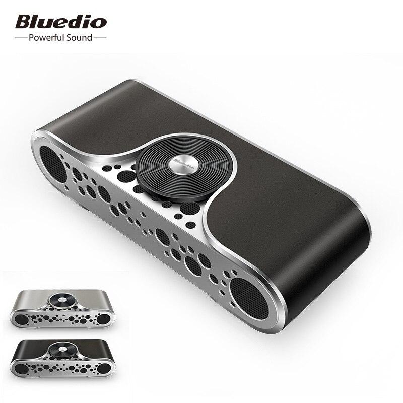 TS3 Bluedio Bluetooth Wireless speaker Portátil Apoio cartão SD Sistema 3D Música estéreo surround de Som