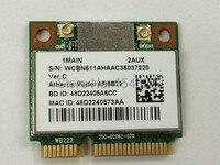 Atheros AzureWave AR9462 AR5B22 WB222 Половина мини PCIe 300 Мбит/с + Bluetooth4.0 WLAN Беспроводная карта Wi-Fi