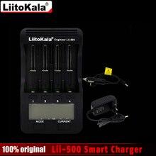 Liitokala lii500 ЖК зарядное устройство для 3.7 В 18650 26650 18500 18640 цилиндрических литиевые батареи, 1.2 В AA AAA NiMH Зарядное устройство