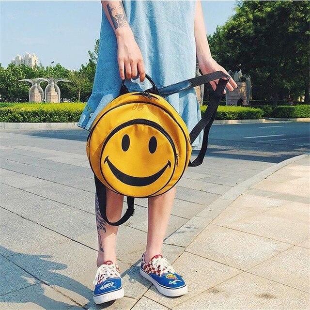 сумка рюкзак смайлик 1