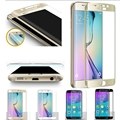 Full Covered HD Clear Covered Edge Tempered Glass Screen Protector Film for Samsung Galaxy S6 Edge S6 Edge Plus S7 Edge
