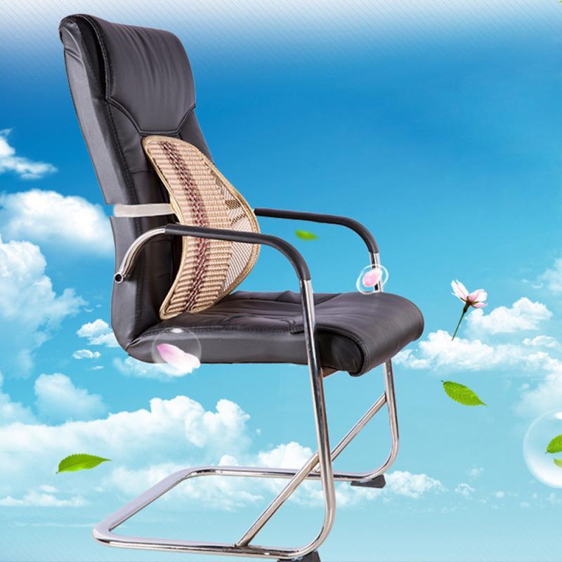 Car cushion lumbar support summer waist pillow sedan massage supplies viscose Car seat cushion for leaning on waist pad