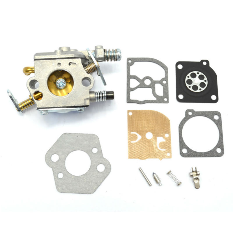 ZAMA Carburetor Carbs with Repair Kit Gasket for Stihl Chainsaw 021 023 025 MS210 MS230 MS250 Replacement Parts 42 5mm cylinder piston for stihl 023 025 ms230 ms250 crankshaft carburetor carb with gasket chainsaw engine