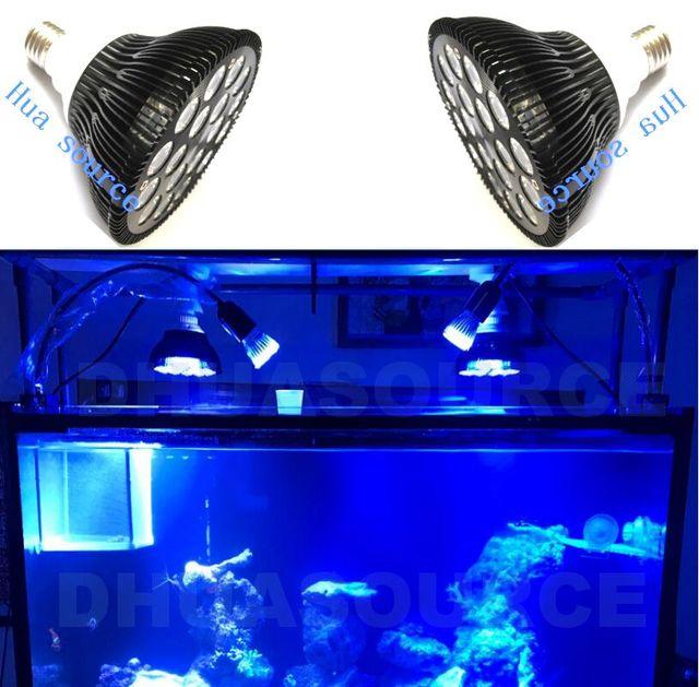 Us 226 16 Offoświetlenie Diodowe Do Akwarium Nano 18 W Led Akwarium Oświetlenie żarówki Z Pełnym Spektrum Dla Akwarium Rafa Koralowa