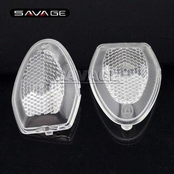 For SUZUKI DL650 V-strom ADVXT DL1000 V-strom 2013-2016 Motorcycle FrontRear Turn signal Light Blinker Lens Clear