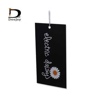 Customized print clothing hang tag 300gsm paperboard garment swing hanging tag hand tags 200pcs/lot - Category 🛒 Home & Garden