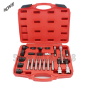 23pc Alternator Freewheel Pulley Repair Removal Tool Kit Univesal