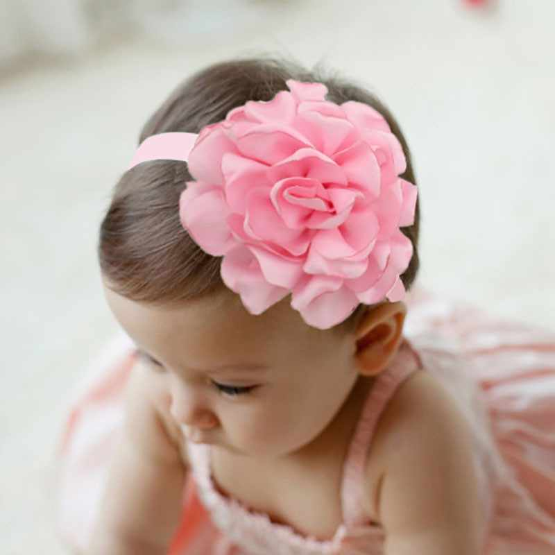 Baby Girls Flower Headband Headwear Apparel Wreath Photography Prop Party Gift Year