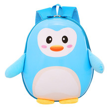 NEW Cute Little Penguin Children's Backpack Lovely Cartoon Animal School Bags For Boys Girls kindergarten bag baby Book