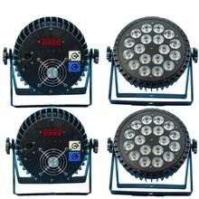 4 шт./18X12 Вт RGBW светодиодный PAR свет dmx512 Диско свет, светодиодный мыть свет профессиональное dj оборудование
