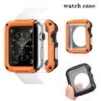 SGP uhr fall für apple watch abdeckung 42mm & für apple watch screen protector 44mm stoßfest serie 3/2 /1 38mm für iwatch 4 40mm