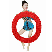 Художественный гимнастический защитный чехол для ритмического кольца-кольца с держателем RG аксессуар хула Оборудование для защиты обручей Appratus