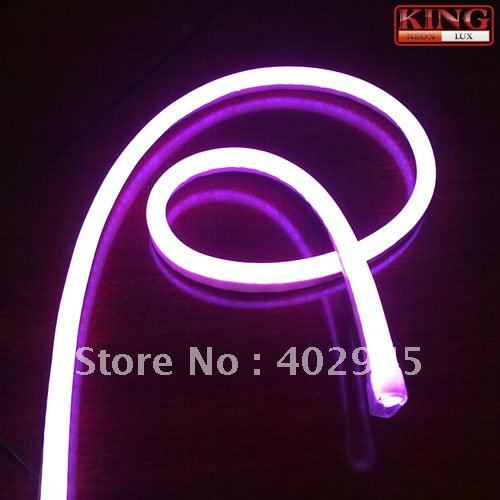 Led Neon Flex Purple Color Soft Light Flexible Strip Rope