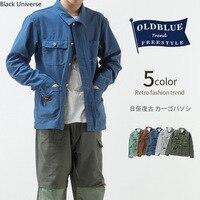 Black Universe mens jackets Men Vintage denim jacket overalls off white the north of face designer clothes Original tide brand