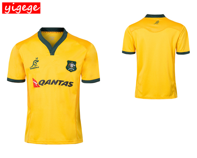 4a176486b79 2018 AUSTRALIA WALLABIES JERSEY 18 19 rugby Jerseys NRL National Rugby  League shirt Australian wallabies shirts s-3xl