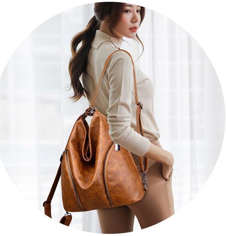 sacolas multifuction bolsas de couro designer para