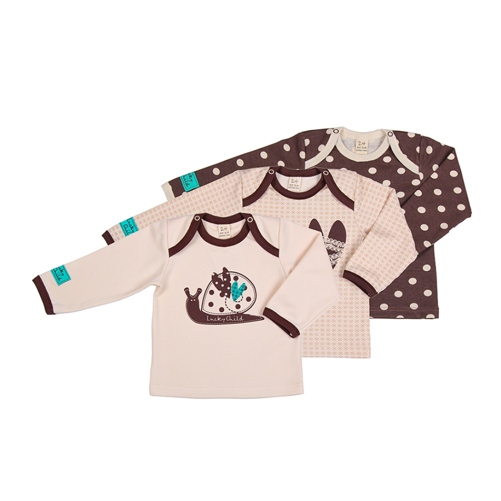 Фото - Hoodies &  Sweatshirt Lucky Child for girls and boys 30-136 3M-18M Kids  Baby clothing Children clothes Jersey Blouse contrast lace keyhole back blouse