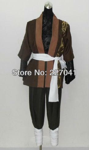 New Hakuouki Okita Soji anime Cosplay Costume Free Shipping