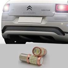 1pcs 1156 BA15S 60SMD LED 30W Auto Light Source Tail Reverse Backup Brake Lamp Bulb For Citroen C2 C3 C4 C8 Elysee Picasso ZX