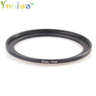 67-77mm Metal Step Up Rings Lens Adapter Filter Set
