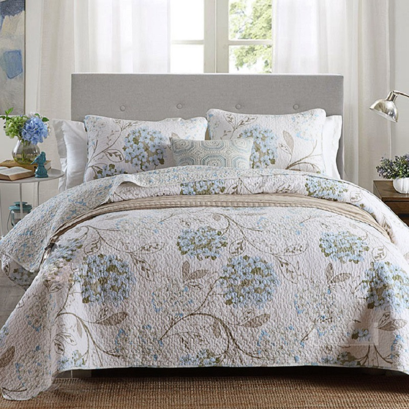جودة chausub عادي لحاف لحاف مجموعة 3 قطع السرير غسلها القطن مبطن المفرش غطاء السرير ملاءات المخدة الملك الحجم-في مجموعات الفراش من المنزل والحديقة على  مجموعة 1