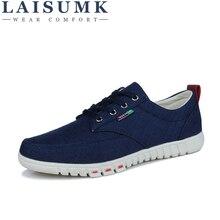 2019 LAISUMK Wholesale Hot Sale Spring New Fashion Suede Men Shoes Mens Canvas Shoes Casual Breathable Shoes Flat Shoes 39-44