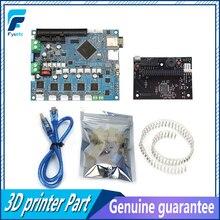 Cloné DuetWifi Duet 2 Wifi V1.04 avancé 32bit électronique carte mère + panneau connecter 3D imprimante CNC Machines BLV MGN Cube