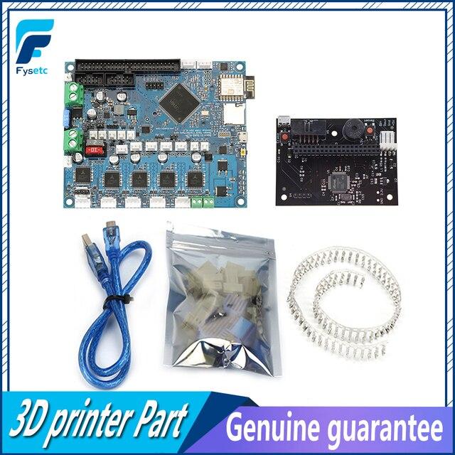 משובט DuetWifi דואט 2 Wifi V1.04 מתקדם 32bit אלקטרוניקה האם + Paneldue להתחבר 3D מדפסת CNC מכונות BLV MGN קובייה