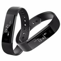 Smart bracelet ID115 Smart band fitness Tracker relogio Smart Wristband Pedometer clock for IOS android PK