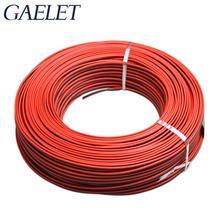 10 м 26 волноводный Электрический кабель Луженая медь кабель с ПВХ-изоляцией для светодиодов ленточный кабель красный черный провод национальный стандарт 1007 ZK30