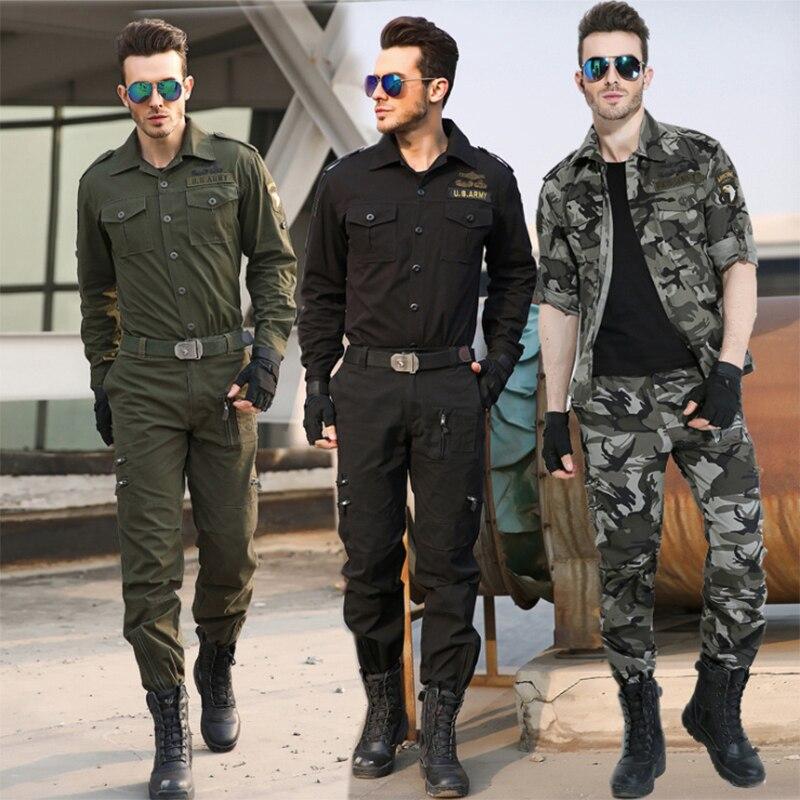 Formation en plein air vêtements costume champ Camouflage loisirs costume printemps automne randonnée Camping armée Fans en gros