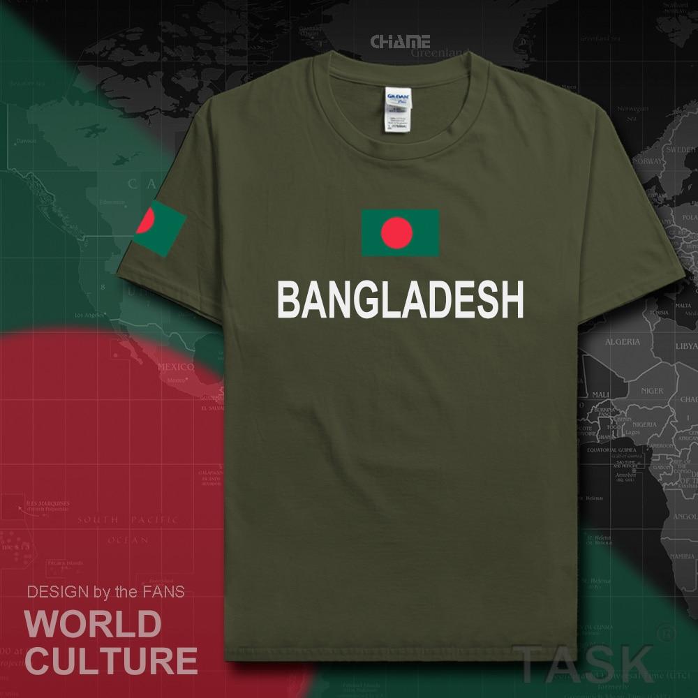 Shirt design in nigeria - Bangladesh Men T Shirts Fashion 2017 Jersey Nation Team Cotton T Shirt Meeting Fitness Clothing