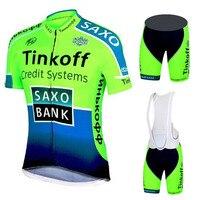 Tinkoff Pro Team Summer Pro Cycling Sets Ropa Ciclismo High Quality Cycling Clothing Abbigliamento Ciclismo Estivo 2019 for Men