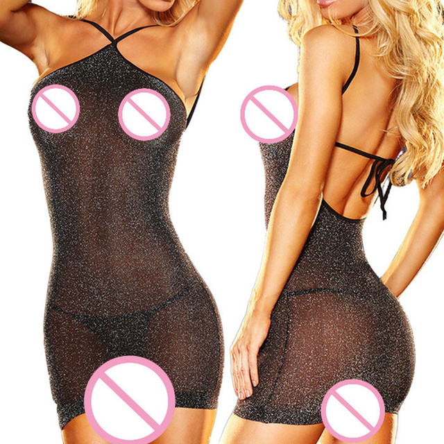 sexy lingerie hot perspective see though erotic lingerie with G-string sexy costume teddies lenceria sexy underwear sex toy