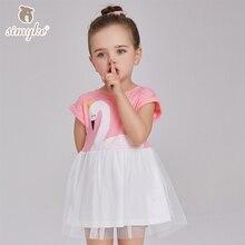 Simyke платье для девочек летнее платье для девочек кружевное платье-пачка 2017 одежда Детские платья платье для малышек детская одежда W8173(China (Mainland))