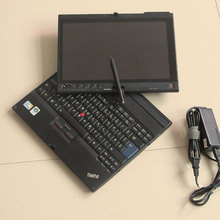 Diagnostic laptop X200t without diagnosis software inside, 4gb ram, touch screen fit well for mb star c4/c5/ for bmw icom a2 b c