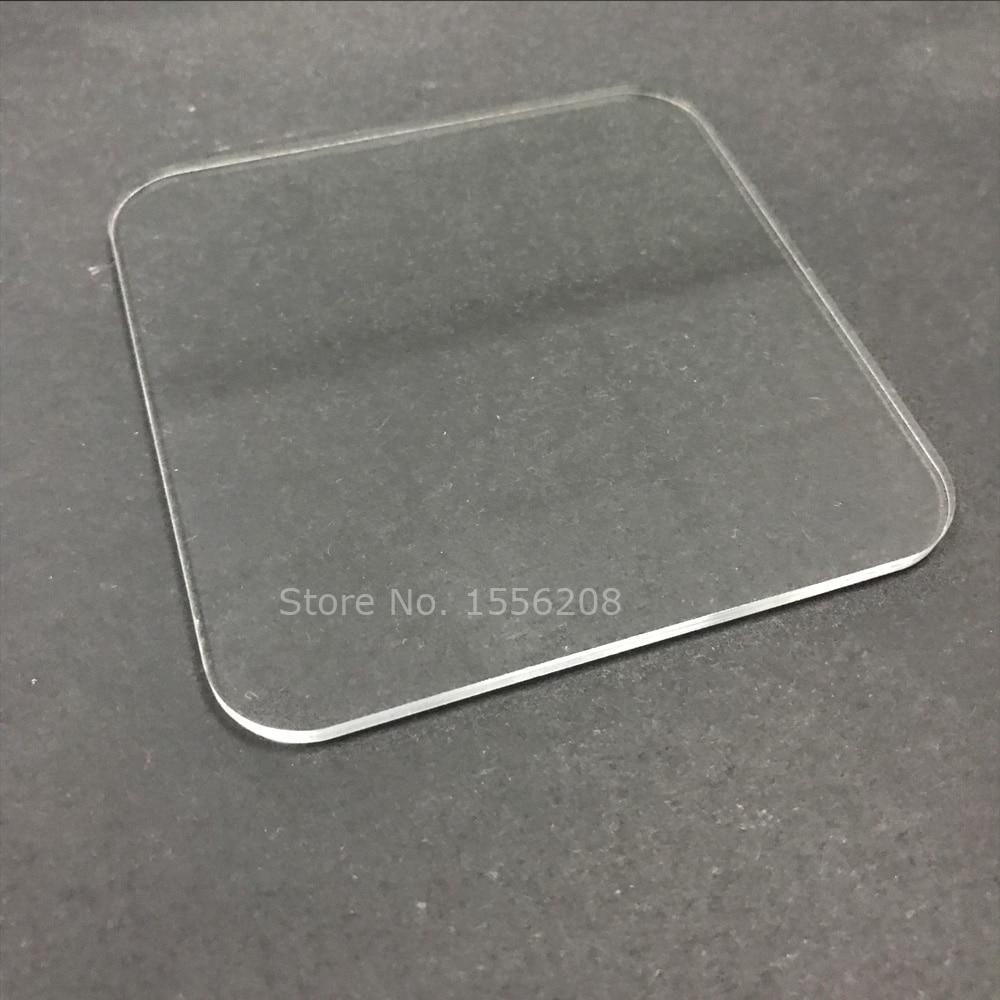 Acrylic Board Glossy Transparent Plexiglass Plastic Sheet Organic Glass Clear 1/8 inch 3mm Thickness