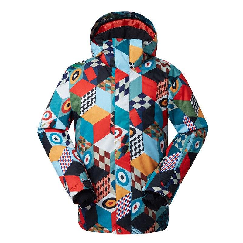 Veste de ski imperméable pour hommes en plein air nouvelle veste de ski Bannan paragraphe unique 1416-061
