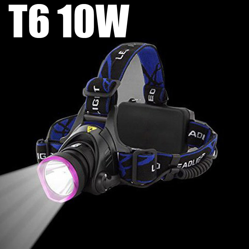 2000LM LED Headlamp Cree XM-L T6 Headlight 18650 Rechargeable Front Head Torch Lantern Lamp 3 Modes Strong Hunting Camping Light led headlamp cree xm l t6 led 2000lm rechargeable head lamps headlights lamp lights use 18650 battery ac charger head light