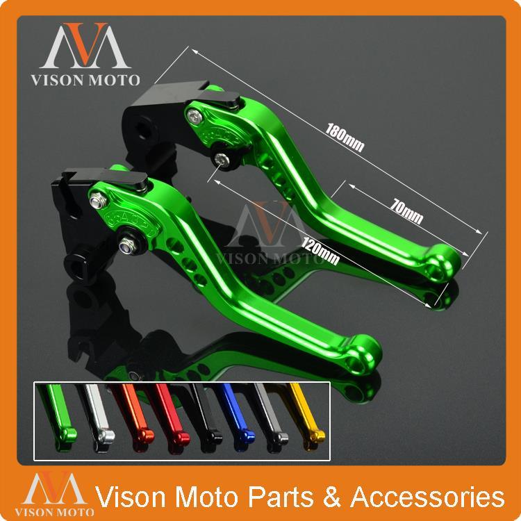 CNC Short Pivot Brake Clutch Levers For Aprilia RSV4 FACTORY 2009 2010 2011 2012 2013 2014 2015 aluminum folding billet adjustable extendable brake clutch levers for aprilia rsv4 1000 factory 2009 2015 2010 2011 2012 2013