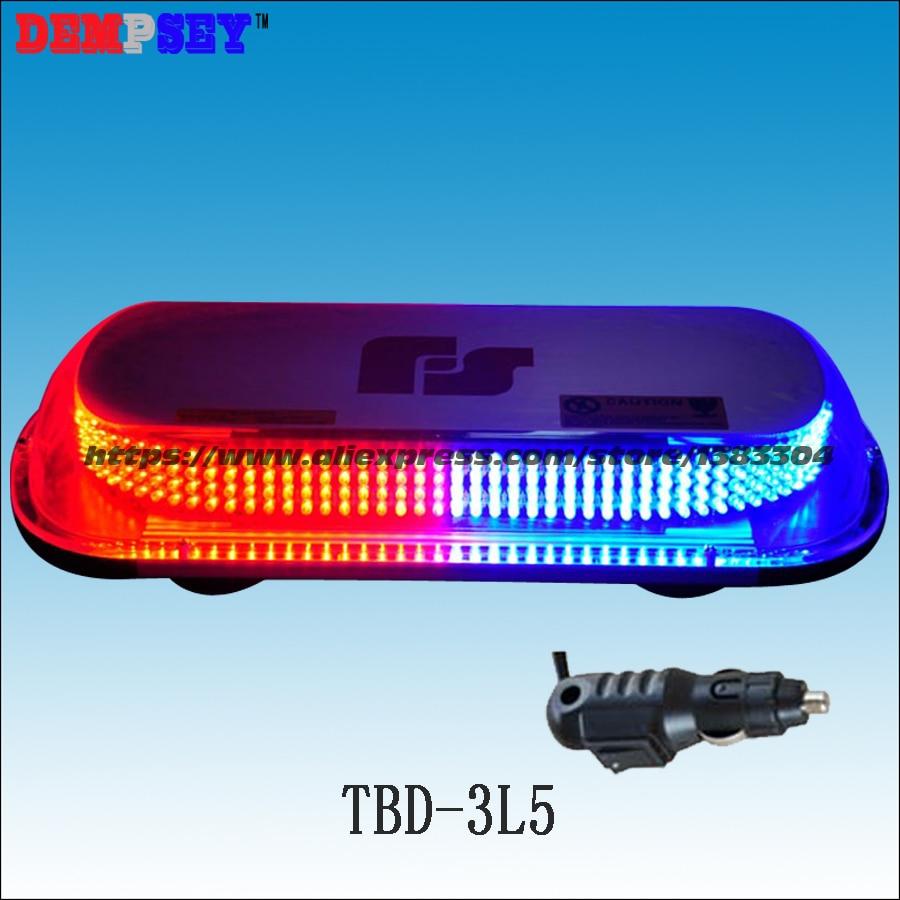 TBD-3L5 LED Super bright mini lightbar/Red&Blue police emergency warning lightbars /Heavy magnetic base Strobe Flashing light построитель лазерных плоскостей instrumax constructor 360 4v